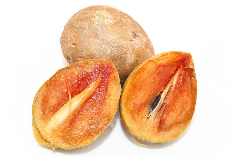 Zapote - Die süße Frucht des Kaugummibaumes