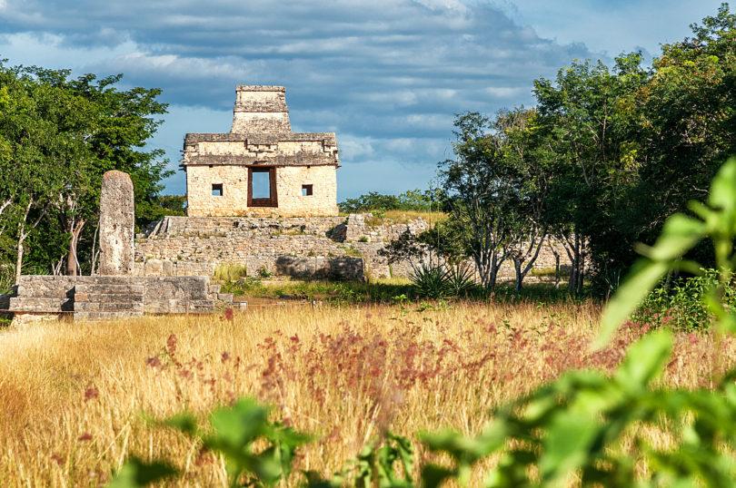 Archäologische Stätte Dzibilchaltún bei Mérida