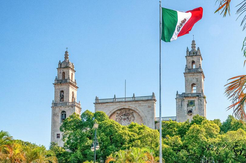 Die Katedrale im Zentrum von Mérida
