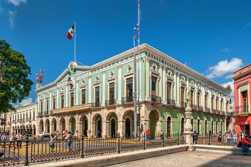 Palacio de Gobierno in Mérida